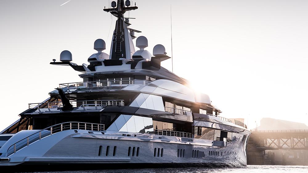 Tom van Oossanen Oceanco Bravo launch superyacht
