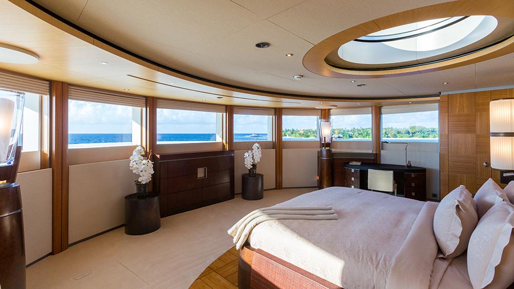 Oceanco Wheels superyacht Fraser charter