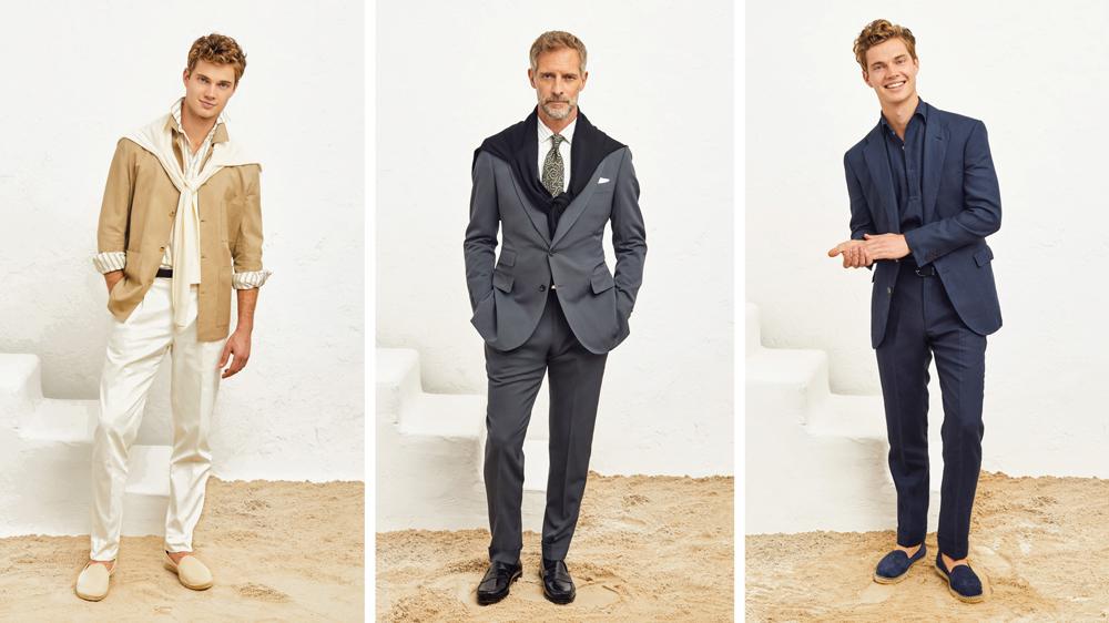 P. Johnson suits