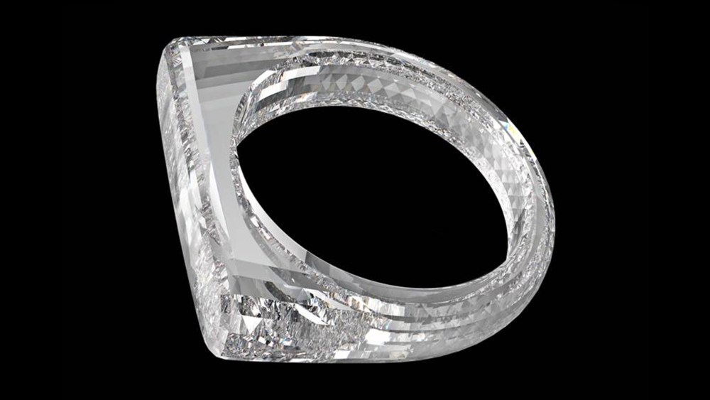 (RED) Diamond Ring Designed by Sir Jony Ive and Marc Newson