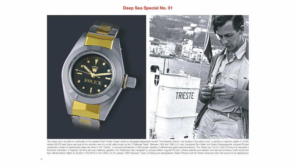 Rolex Book Deep Sea Special No. 1