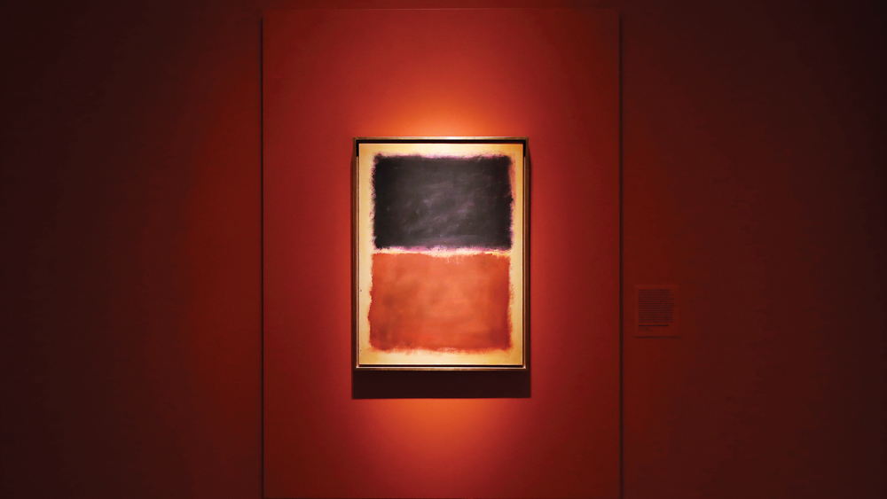 Forged Rothko painting