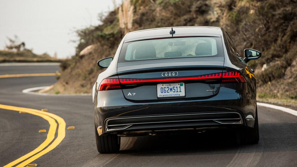 The 2019 Audi A7.