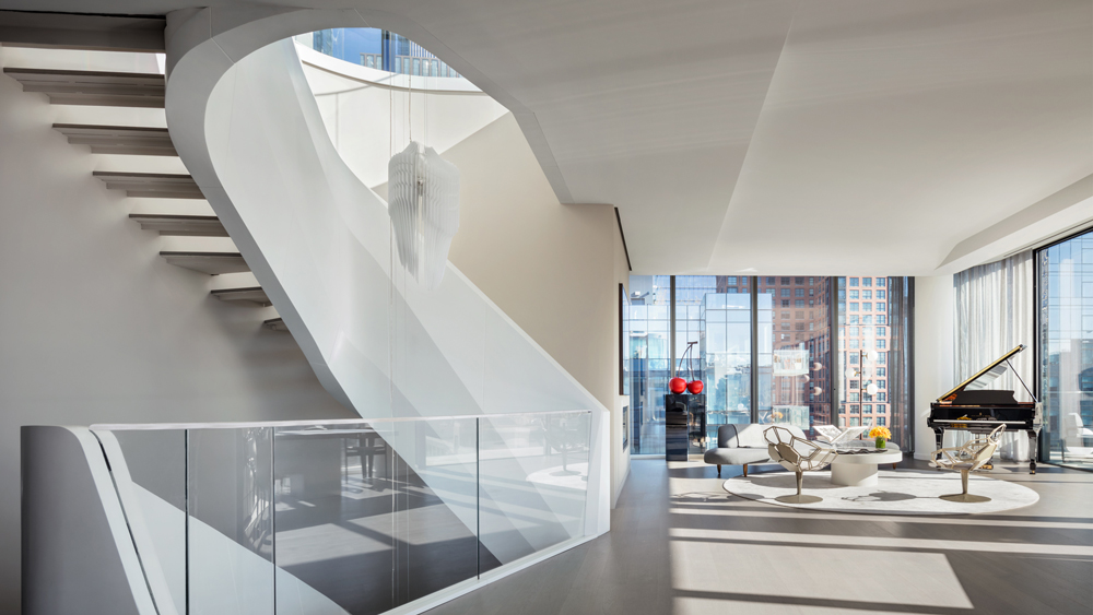 $50 Million Penthouse Designed by Zaha Hadid