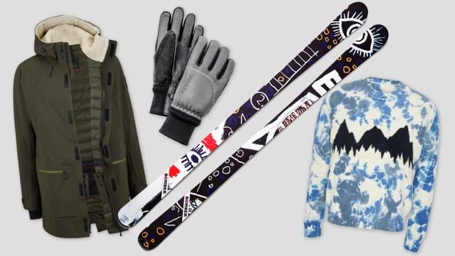 luxury men's ski gear