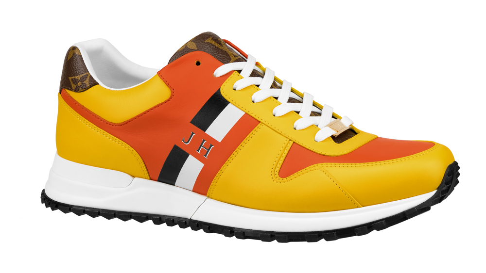 Louis Vuitton Now Yours customizable sneakers