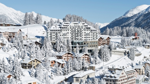 The Swiss Alps Carlton Hotel St. Moritz