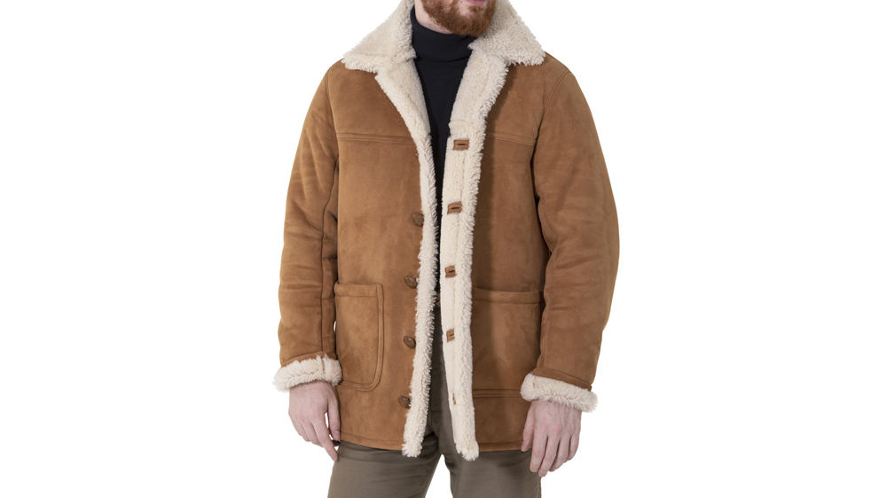 The Armoury Shearling coat