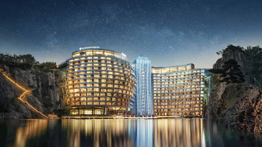 The New InterContinental Shanghai Wonderland Hotel