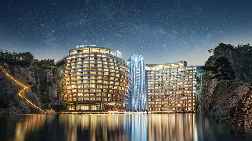 The New InterContinental Shanghai Wonderland Hotel