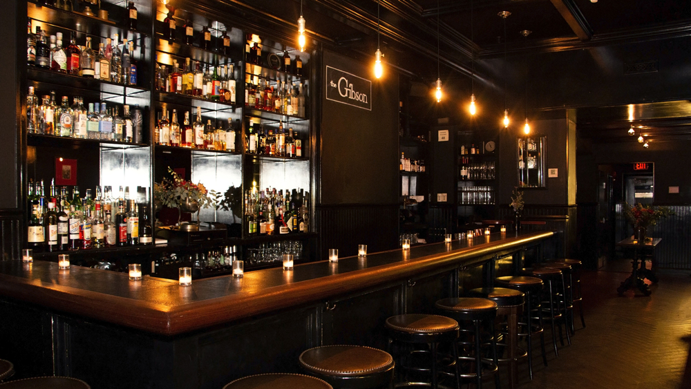 The Gibson main bar