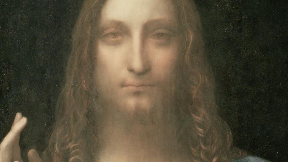"""""""Salvator Mundi"""" (circa 1500) by Leonardo da Vinci"""