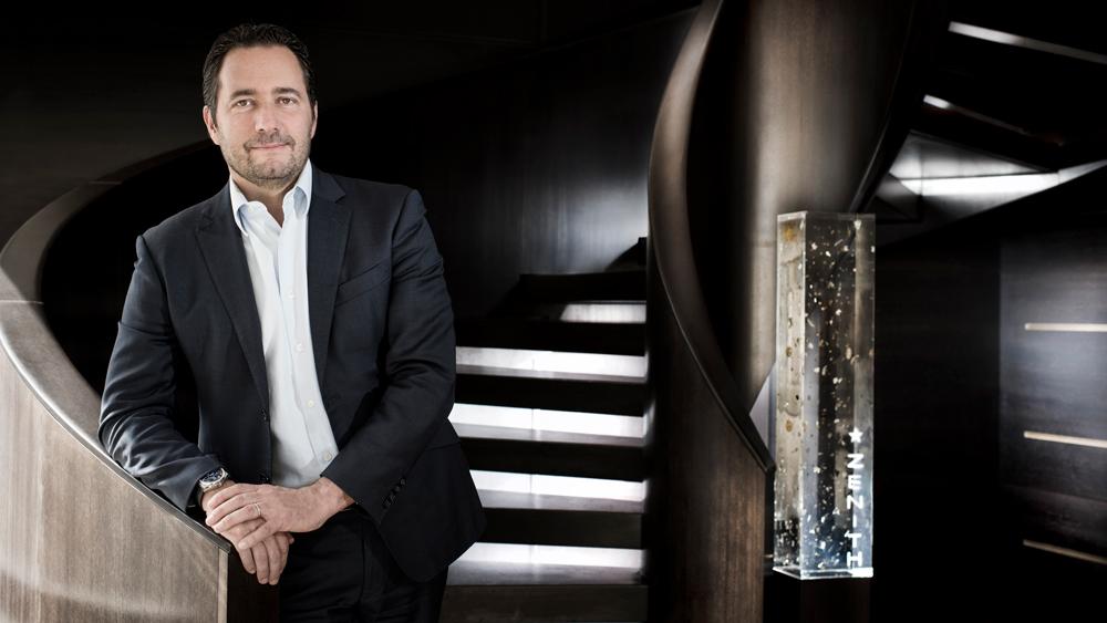 Zenith CEO Julien Tornare