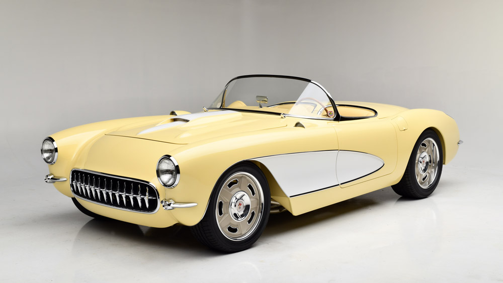 The 1957 custom Corvette being auctioned at Barrett-Jackson's 2019 Scottsdale sale.
