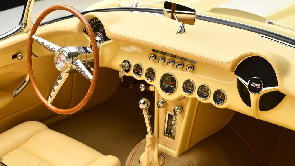 The 1957 custom Corvette being auctioned at Barrett-Jackson's 2019 Scottsdale sale.
