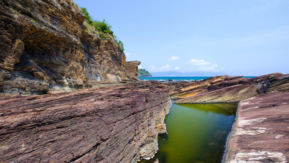 Tung Ping Chau Marine Park of Hong Kong; Shutterstock ID 634371221
