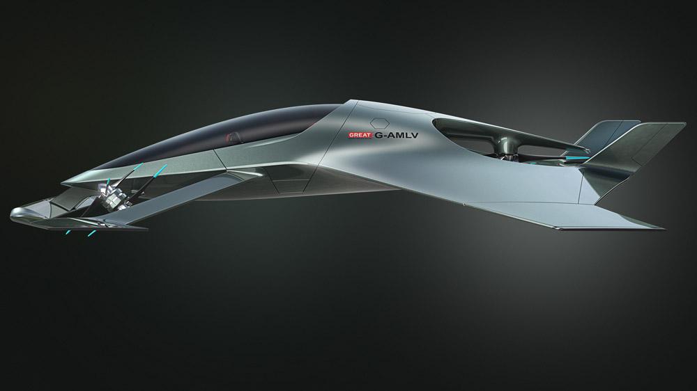 Aston Martin's Volante Vision Concept.