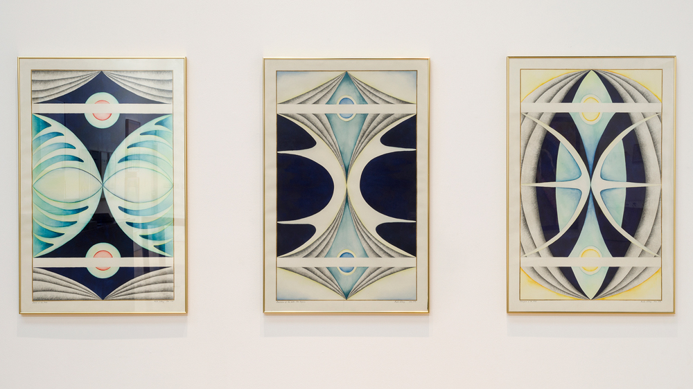 Faith Wilding Moth Triptych