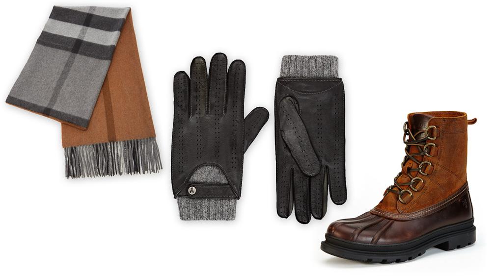 Winter Accessories luxury menswear