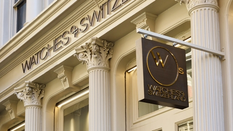 Watches of Switzerland Soho Boutique