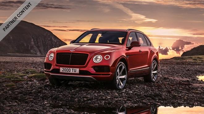 Bentley Bentayga V8 ultra-luxury SUV