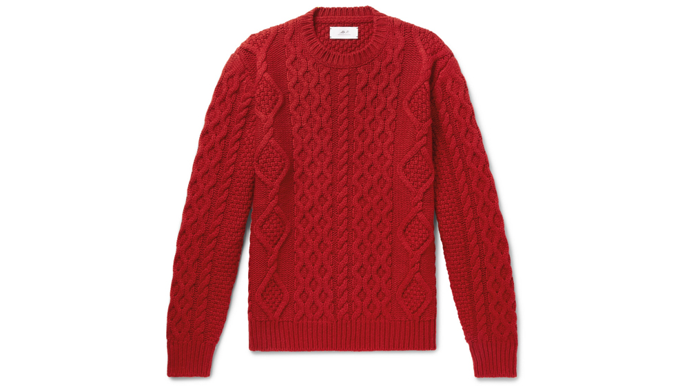 Mr P. Cable-Knit Sweater