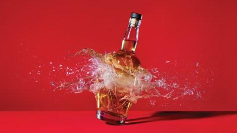 Shattering Bottle