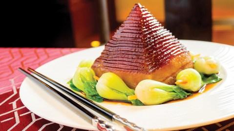Shuang Ba Pork Pyramid
