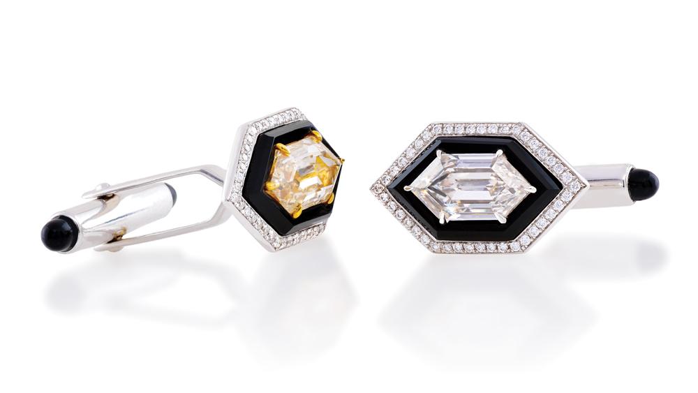 Lugano Diamonds Cuff Links