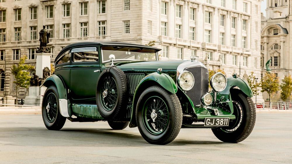 The Blue Train Bentley Speed Six.