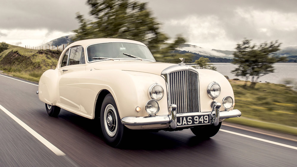 A 1952 Bentley R-Type Continental.