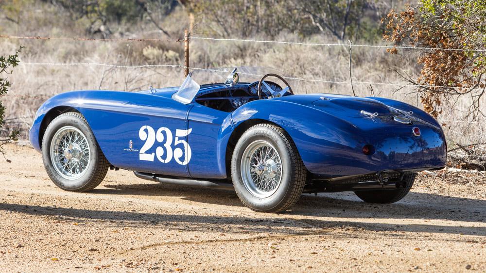 A 1954 Ferrari 500 Mondial.