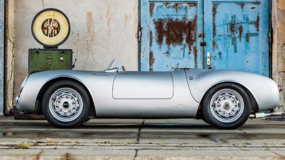 A 1956 Porsche 550 RS Spyder.