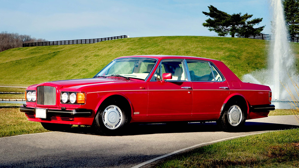 A 1985 Bentley Turbo R.