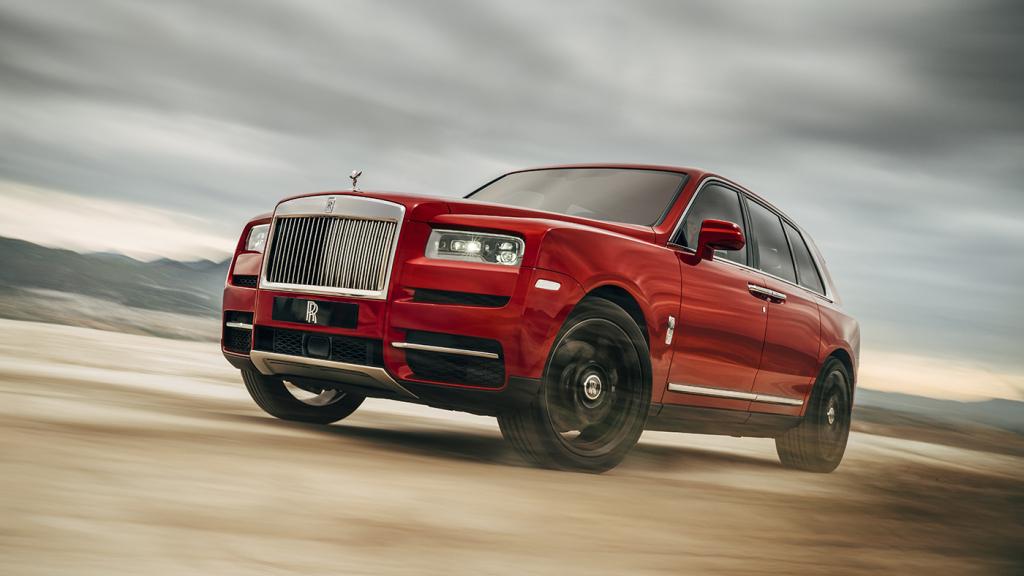 A Rolls-Royce Cullinan.