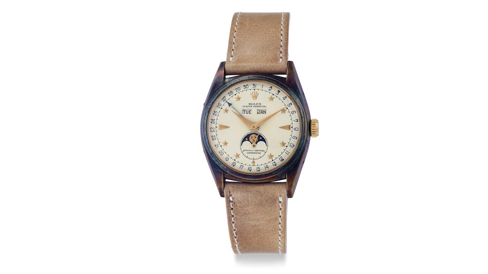 Christie's Rolex Dark Star Ref. 6062