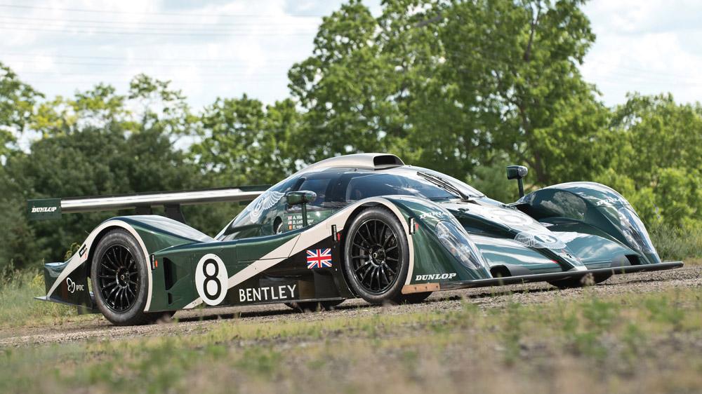 The 2001 Bentley EXP Speed 8.