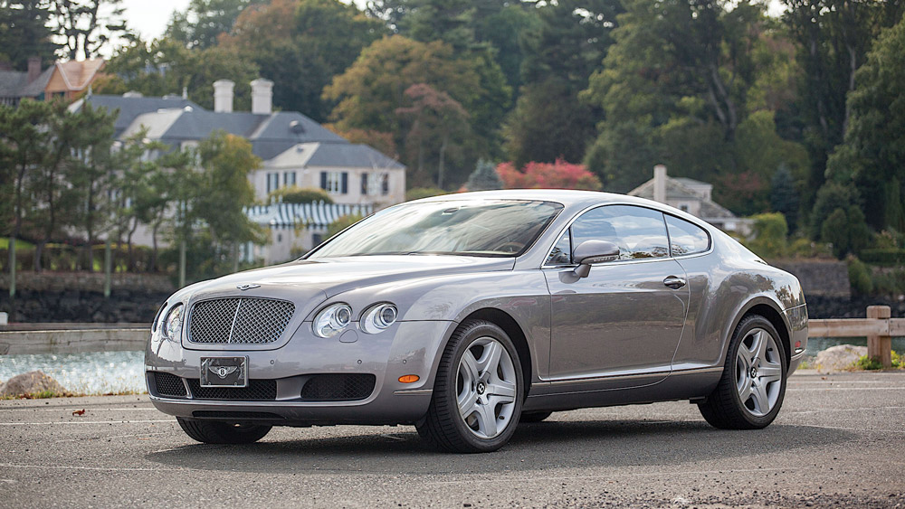The 2003 Bentley Continental GT.
