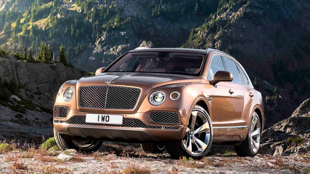 Bentley's Bentayga SUV.