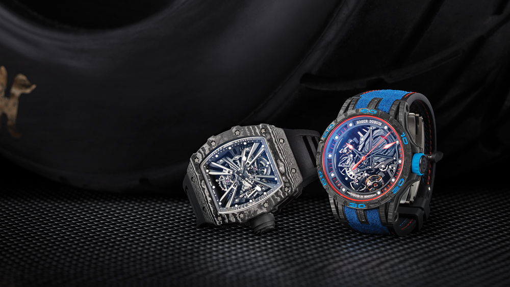Richard Mille and Roger Dubuis Watches