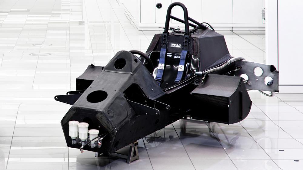 A carbon Formula 1 construction