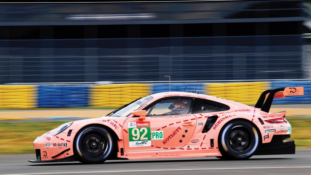 """Porsche's """"Pink Pig"""""""
