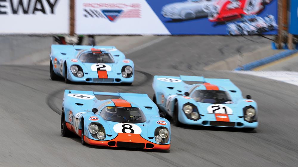 Gulf Racing livery