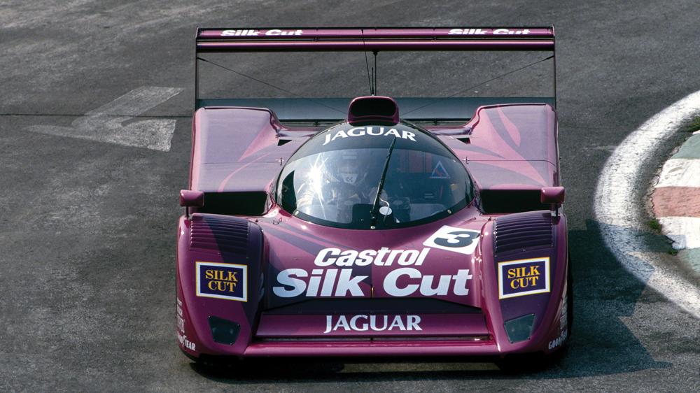 Silk Cut Racing two-tone concept