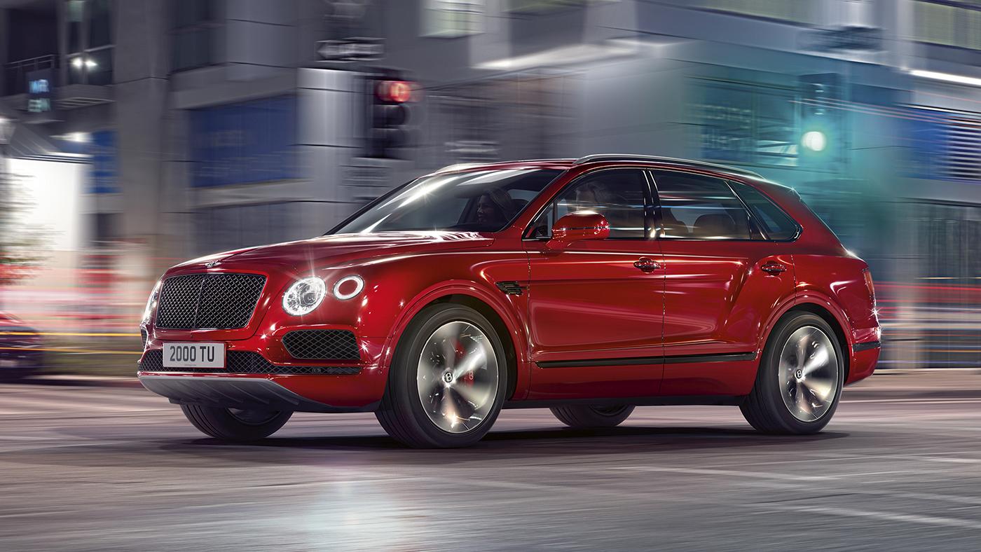 The New Bentley Bentayga V8 Ultra-luxury SUV