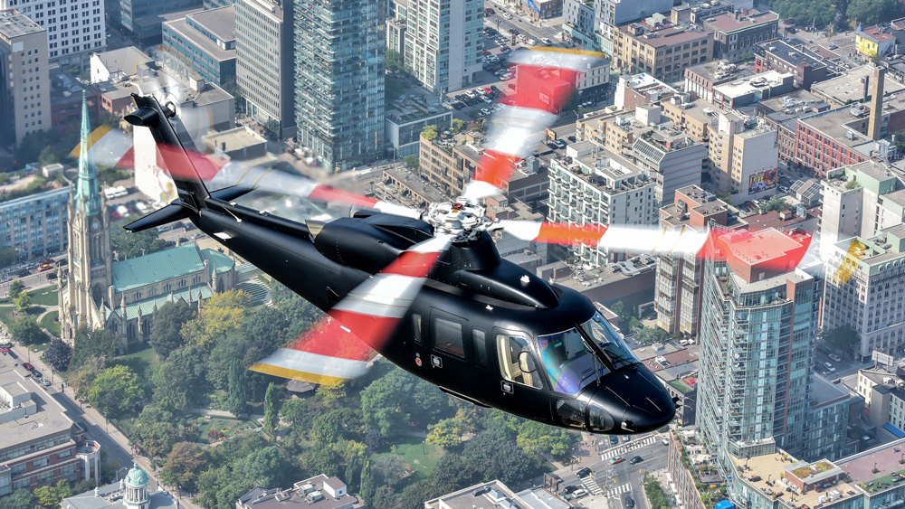 Sikorsky S-76D Executive Transport helicopter