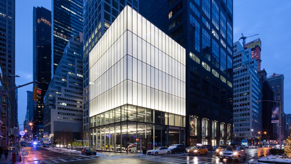 Park Avenue Cube