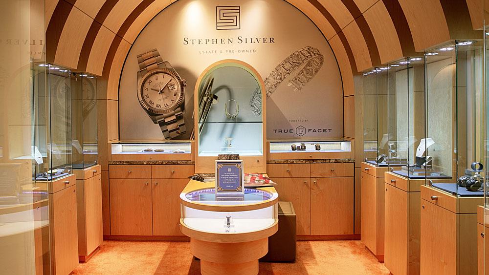 The Stephen Silver TrueFacet boutique Rosewood Sand Hill Resort Menlo Park