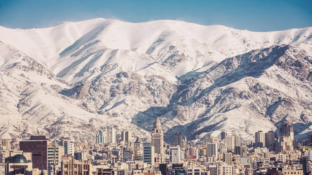 Alborz Mountains Iran