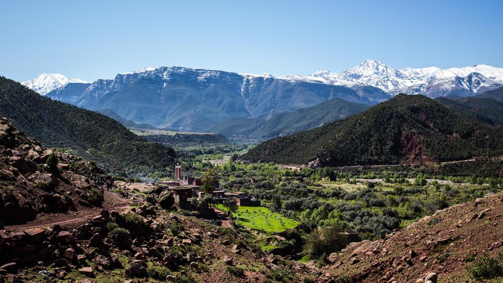Walking tour of Morocco